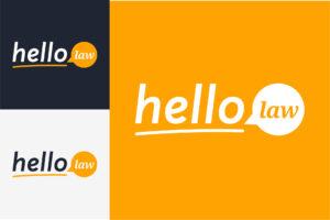 Hello Law Attorney Referral Service | Brand Identity